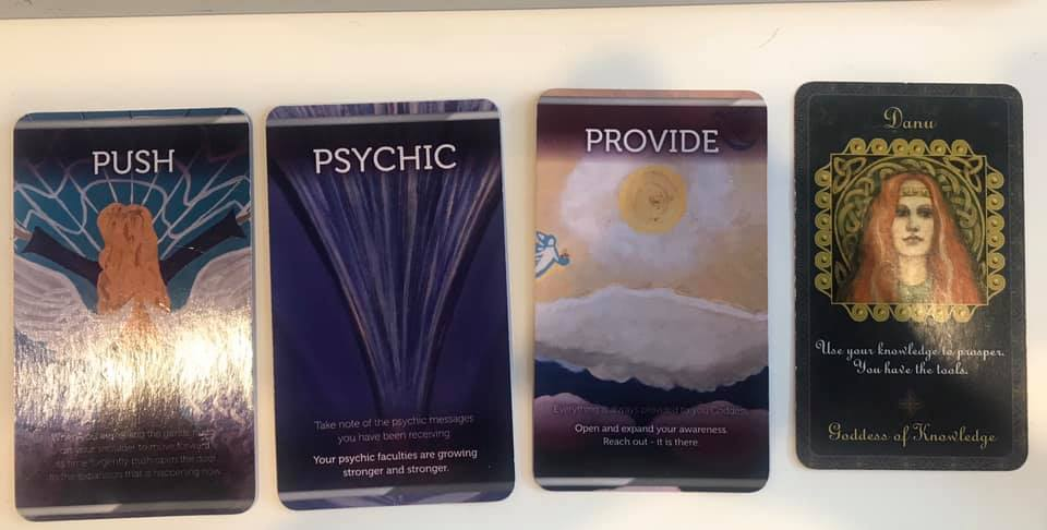 Push, Provide, Psychic – Path to Purpose Message