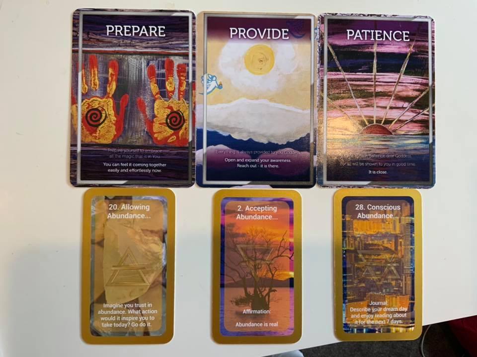 Purpose, Presence, Profit Reading – Abundance Oracle