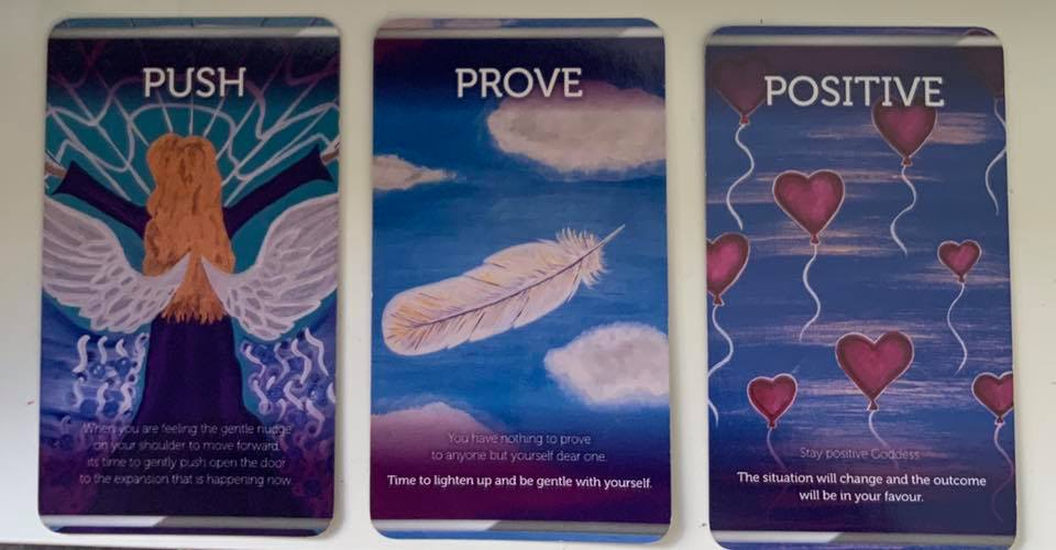 Weekly Purpose message – Push, Prove, Positive