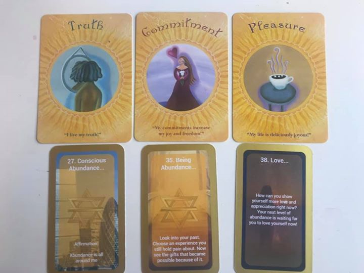 Weekly Purpose Message – Truth, Commitment, Pleasure; Conscious Abundance, Being Abundance, Love.