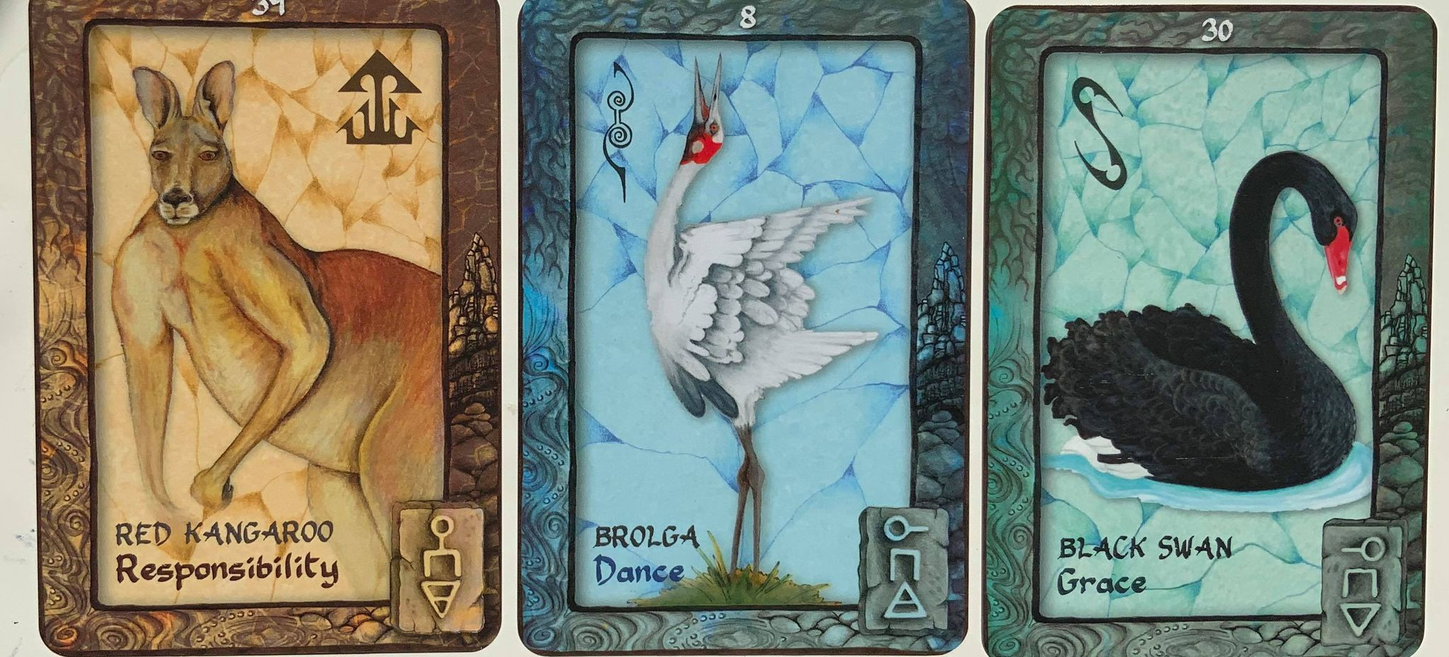 Your Weekly Purpose Reading using Animal Dreaming Cards – Responsibility, Dance, Grace
