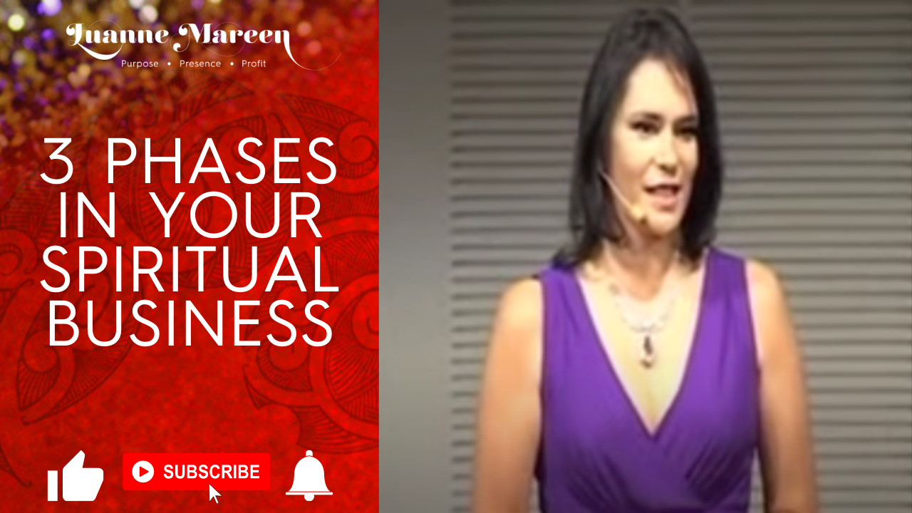 3 Phases in your Spiritual Business