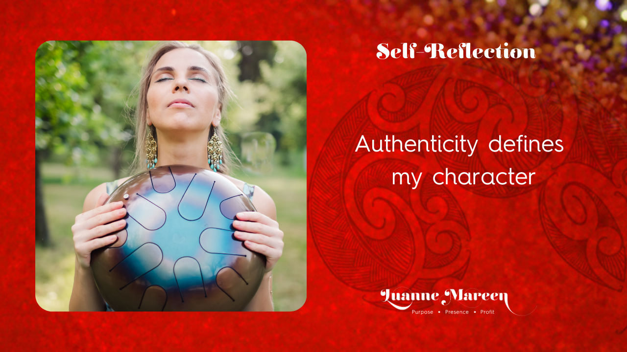 Read more about the article Self-Reflection: Authenticity defines my character