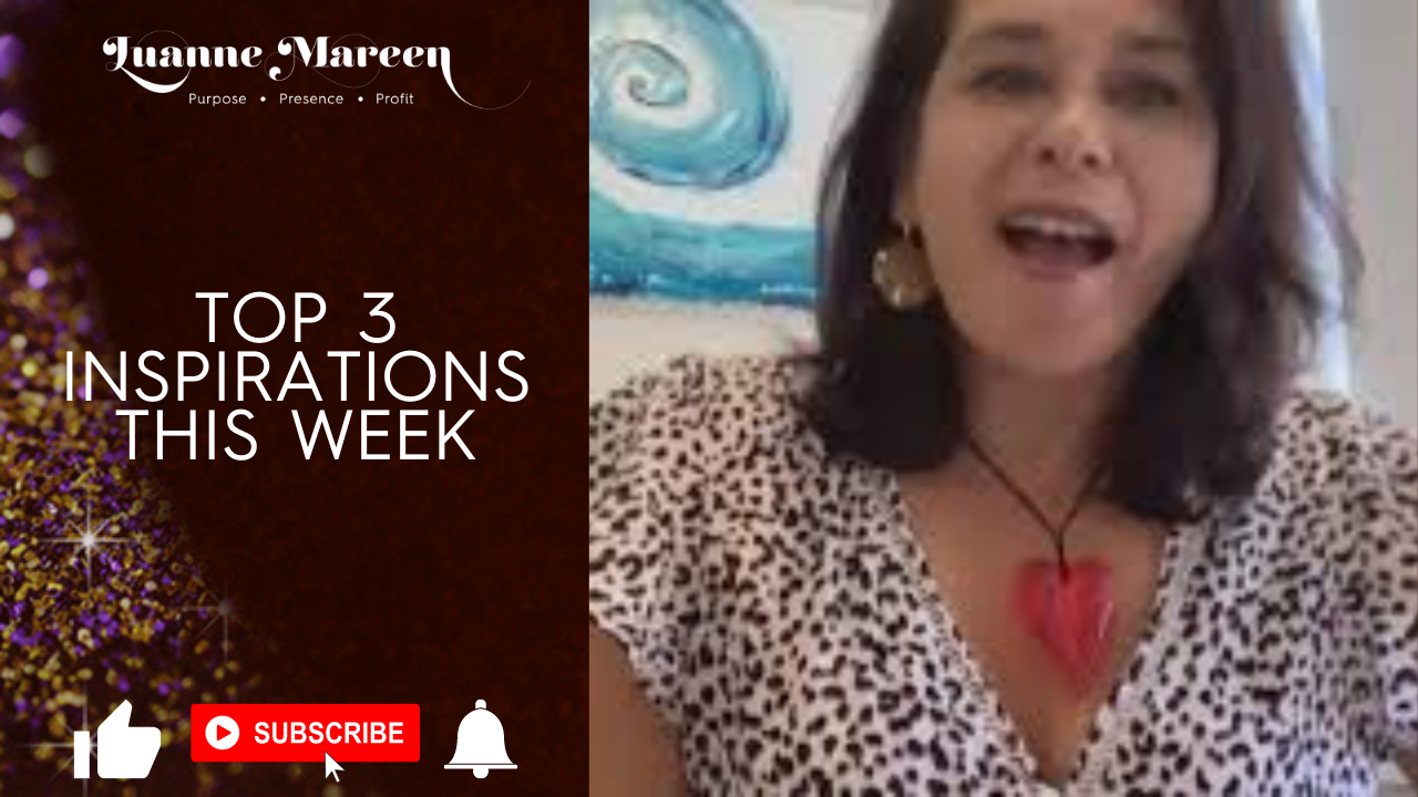 Top 3 Inspirations this week