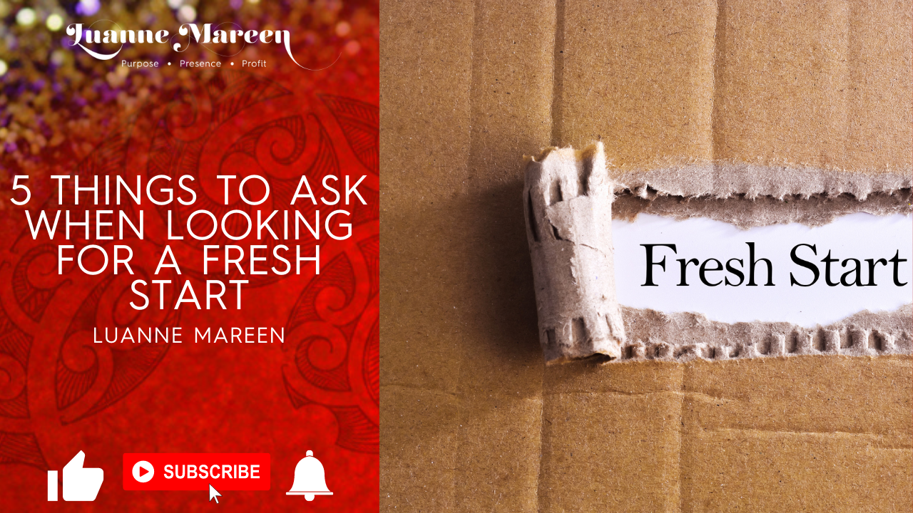 5 Things to Ask When Looking for a Fresh Start
