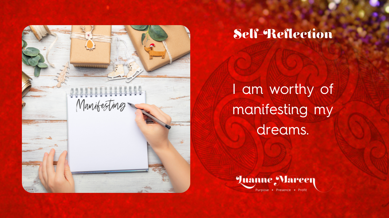 Read more about the article Self-Reflections: I am worthy of manifesting my dreams.