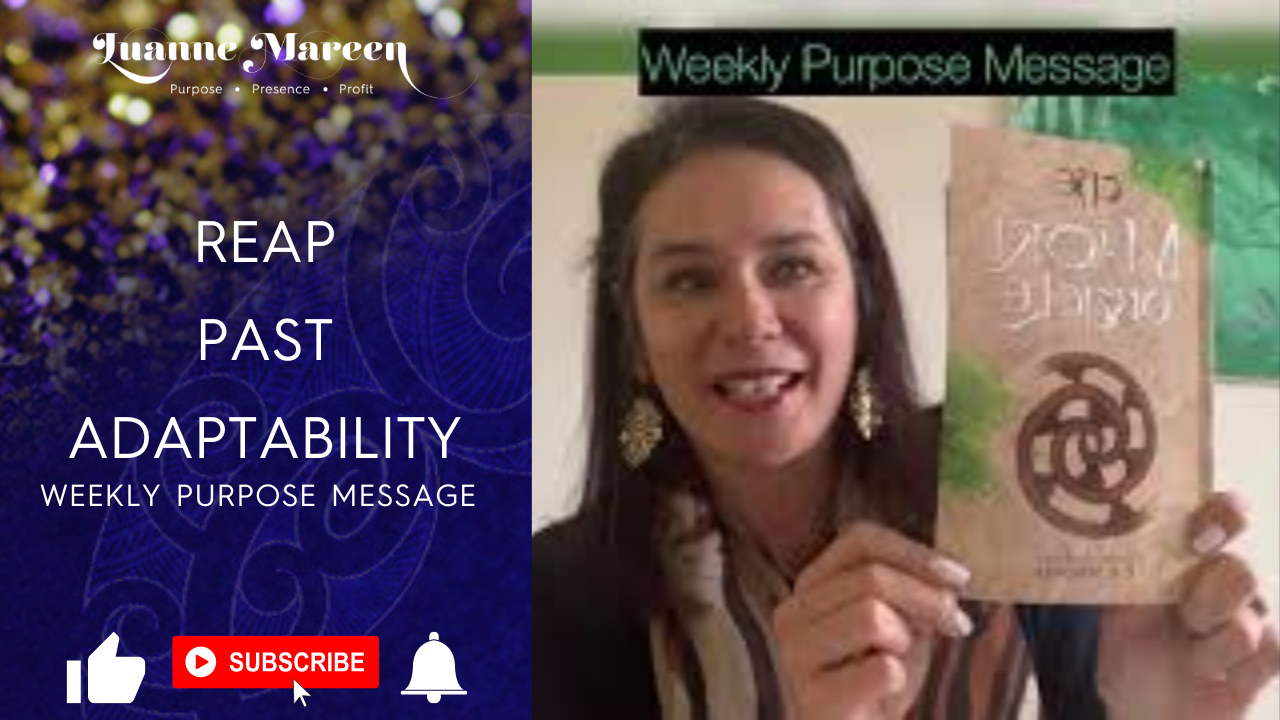 Read more about the article Reap, Past, Adaptability – Weekly Purpose Message