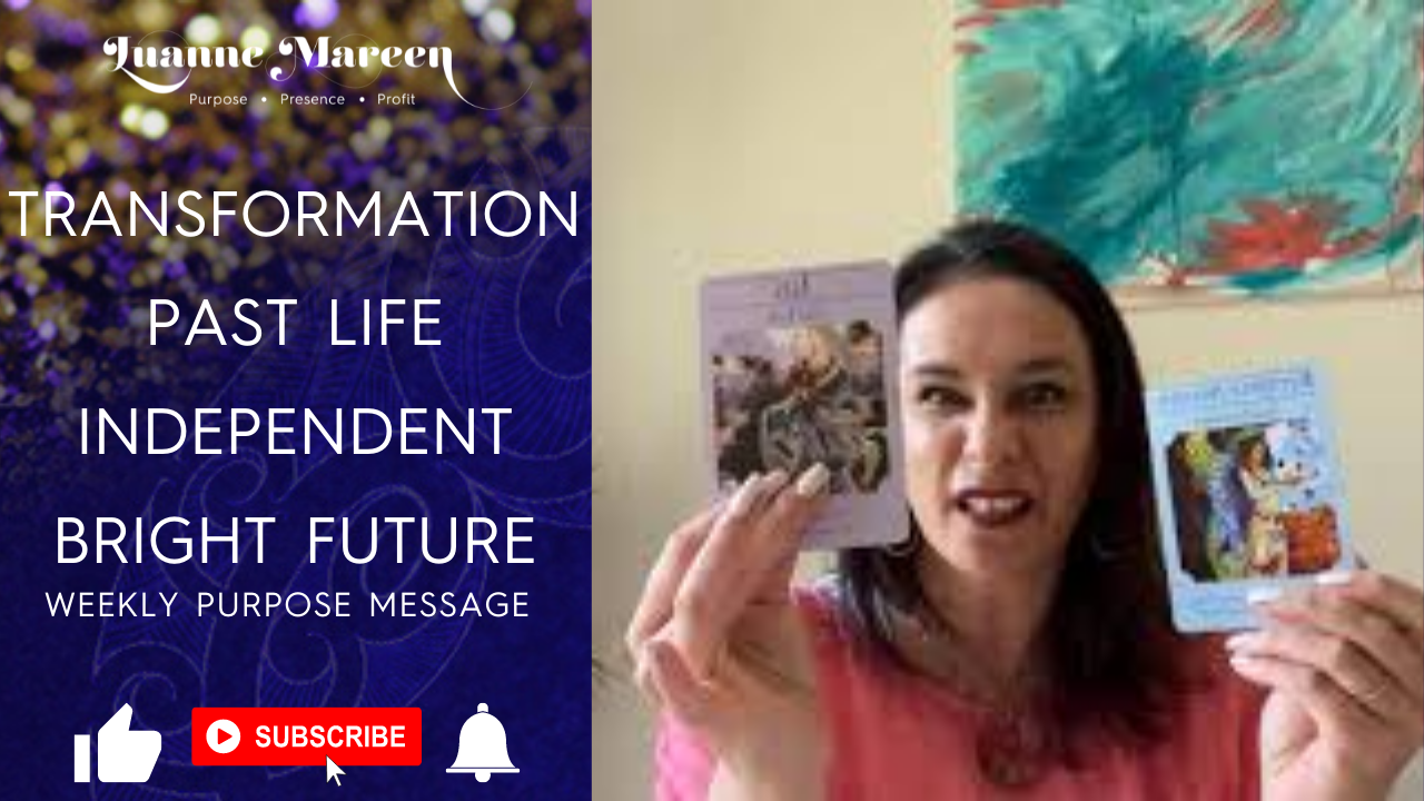 Read more about the article Transformation, Past Life, Independent, Bright Future – Weekly Purpose Message